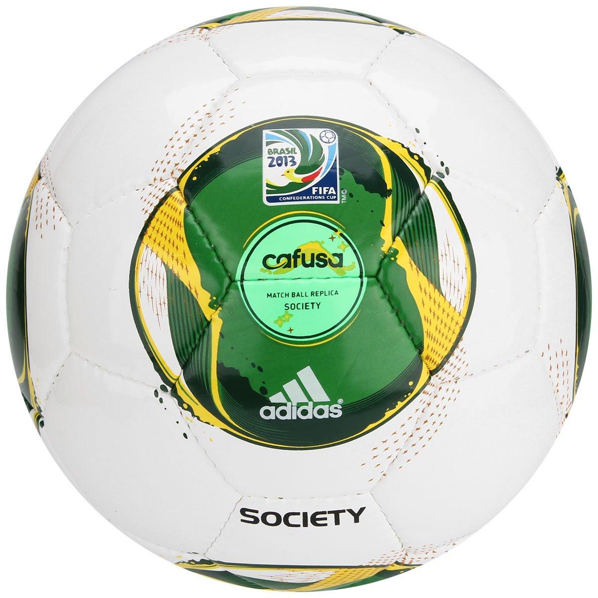 4bc321ecf58c9 Bola Futebol Adidas Cafusa Copa das Confederações Society - Compre Agora