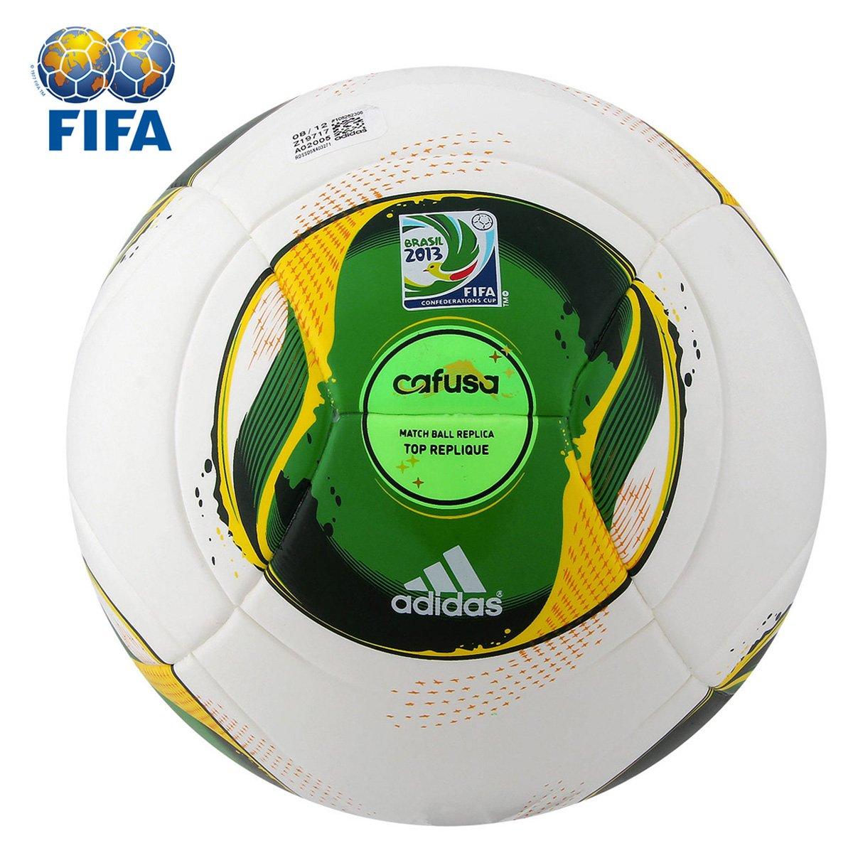 1702f4b1d1032 Bola Futebol Adidas Cafusa Rep. - Copa das Confederações - Compre Agora
