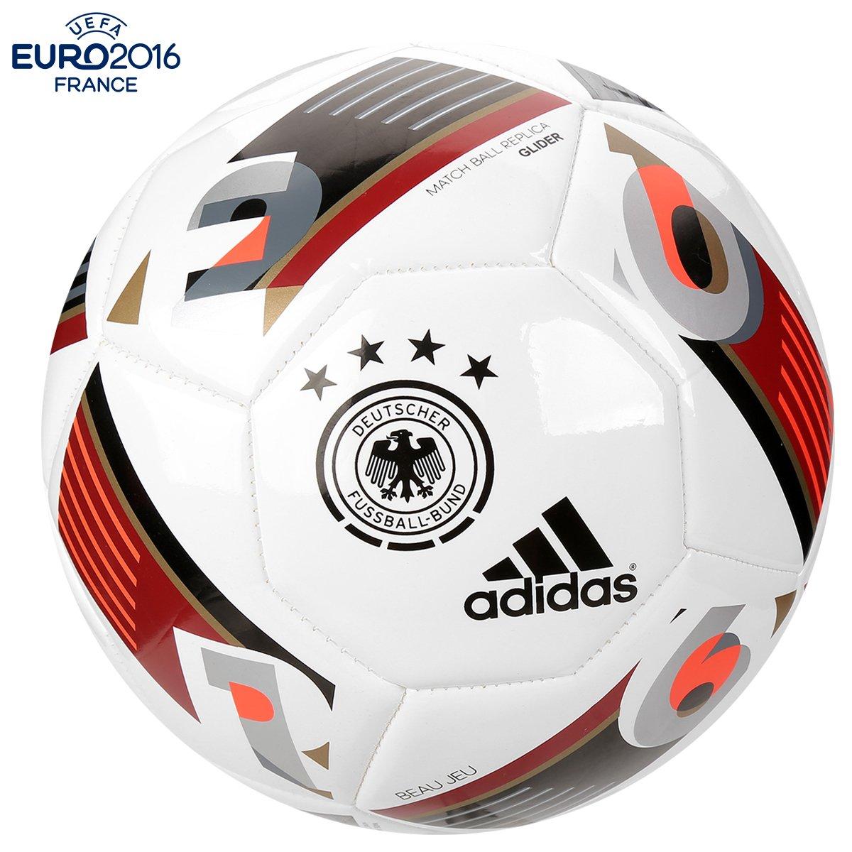 Bola Futebol Adidas Euro 2016 Alemanha Campo - Compre Agora  bb8354619ab0f