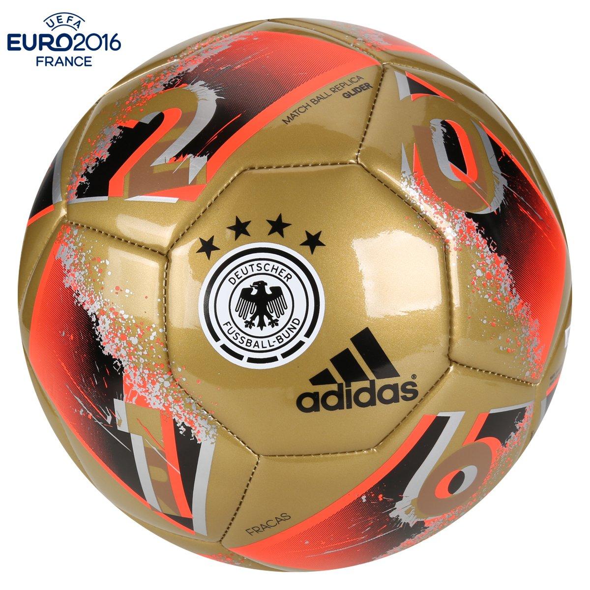 Bola Futebol Adidas Euro 2016 Alemanha Capitano Campo - Compre Agora ... 3574f9d36aef9