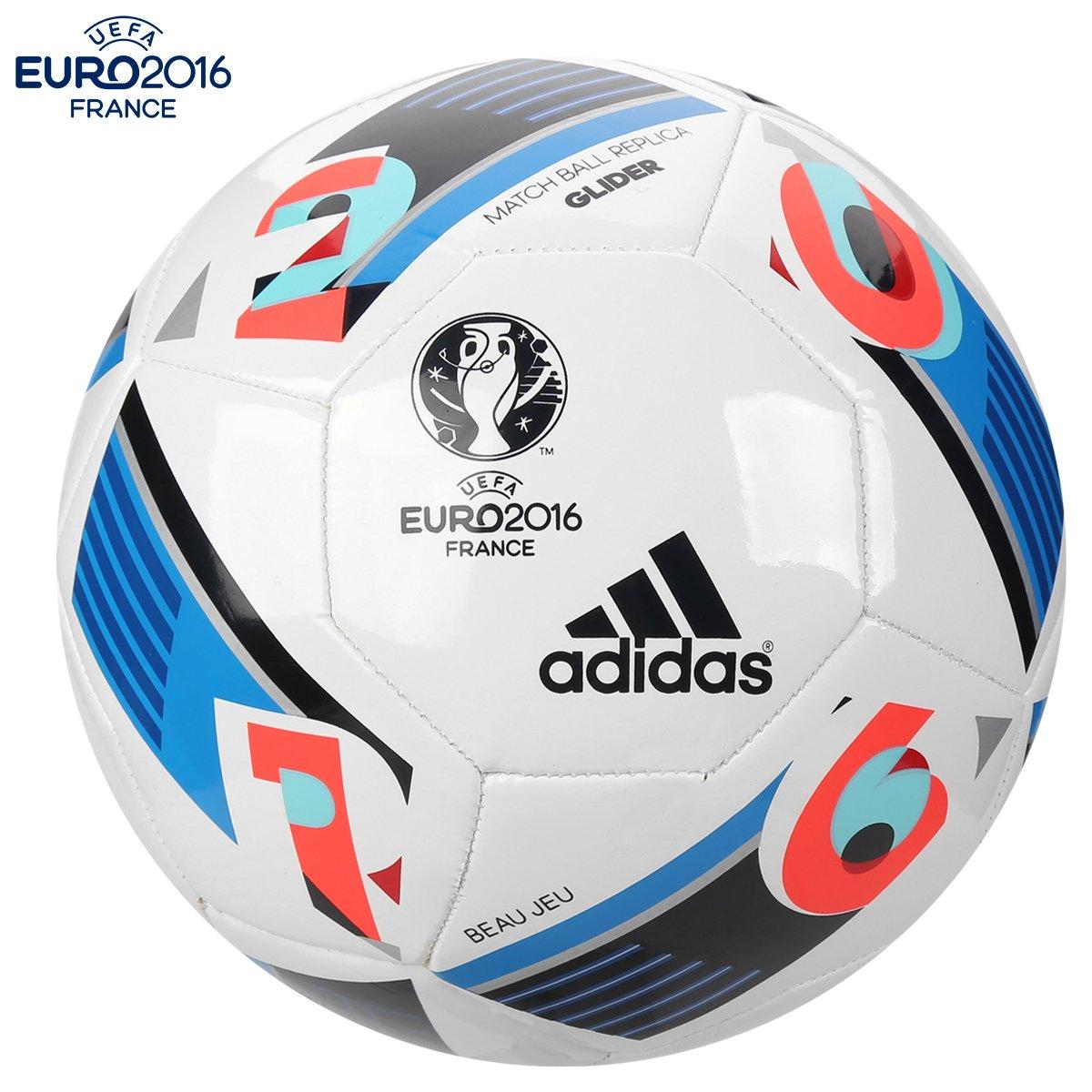 Bola Futebol Adidas Euro 2016 Glider Campo - Compre Agora  e8319e102e1da