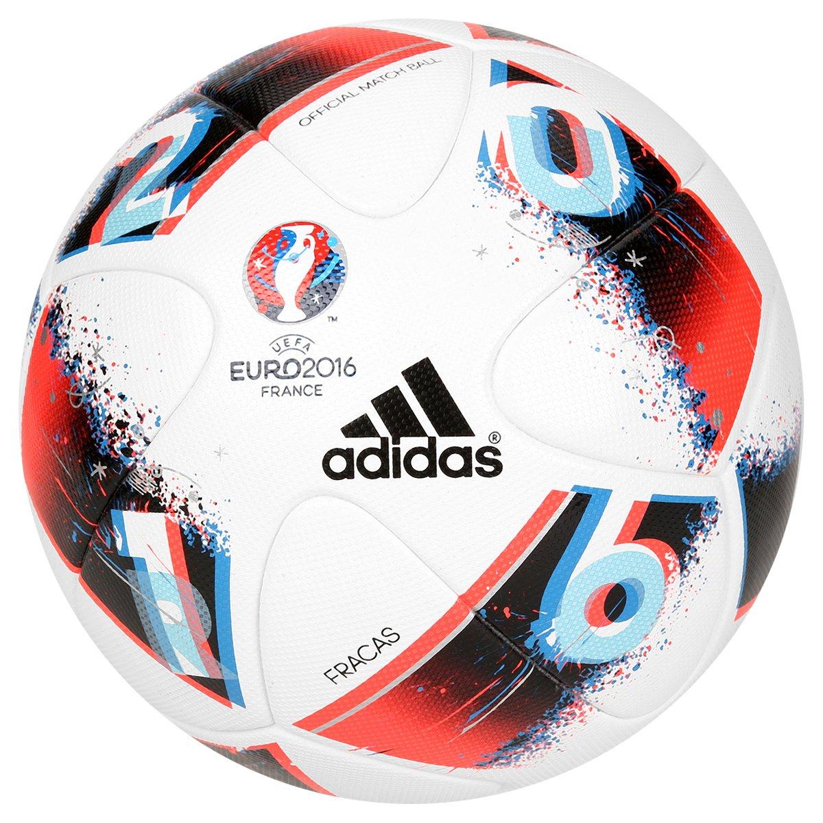 Bola Futebol Adidas Euro 2016 OMB Campo - Compre Agora  c8a9c157c82a0