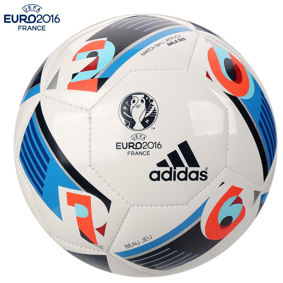 89c68a2c464 Bola Futebol Adidas Euro 2016 Sala 5X5 Futsal | Netshoes
