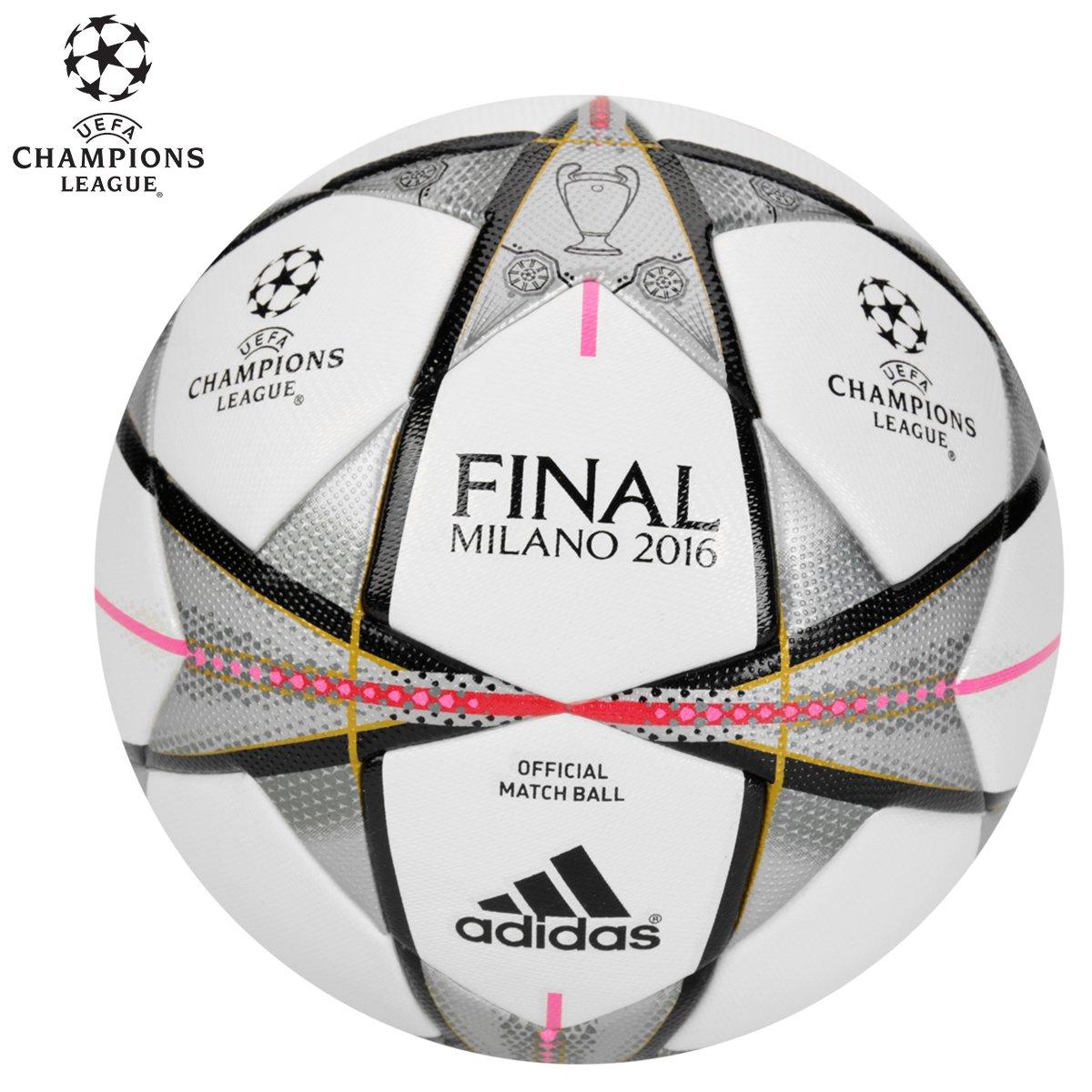 Bola Futebol Adidas Finale Milano 2016 OMB Oficial Campo - Compre Agora  a10f6b56a8154