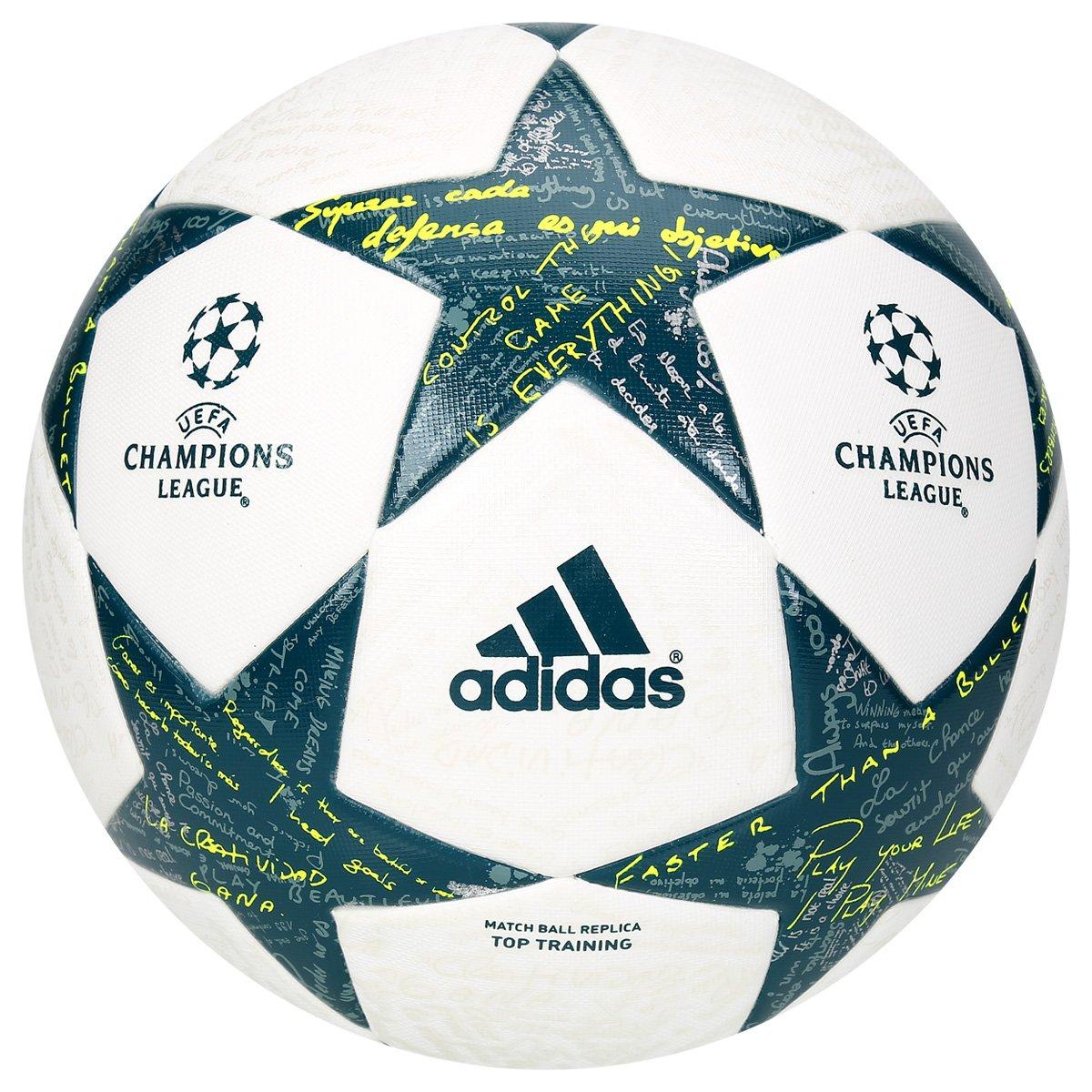 Bola Futebol Adidas UEFA Finale 2016 Top Training Campo - Compre Agora  9b5dc22f92740