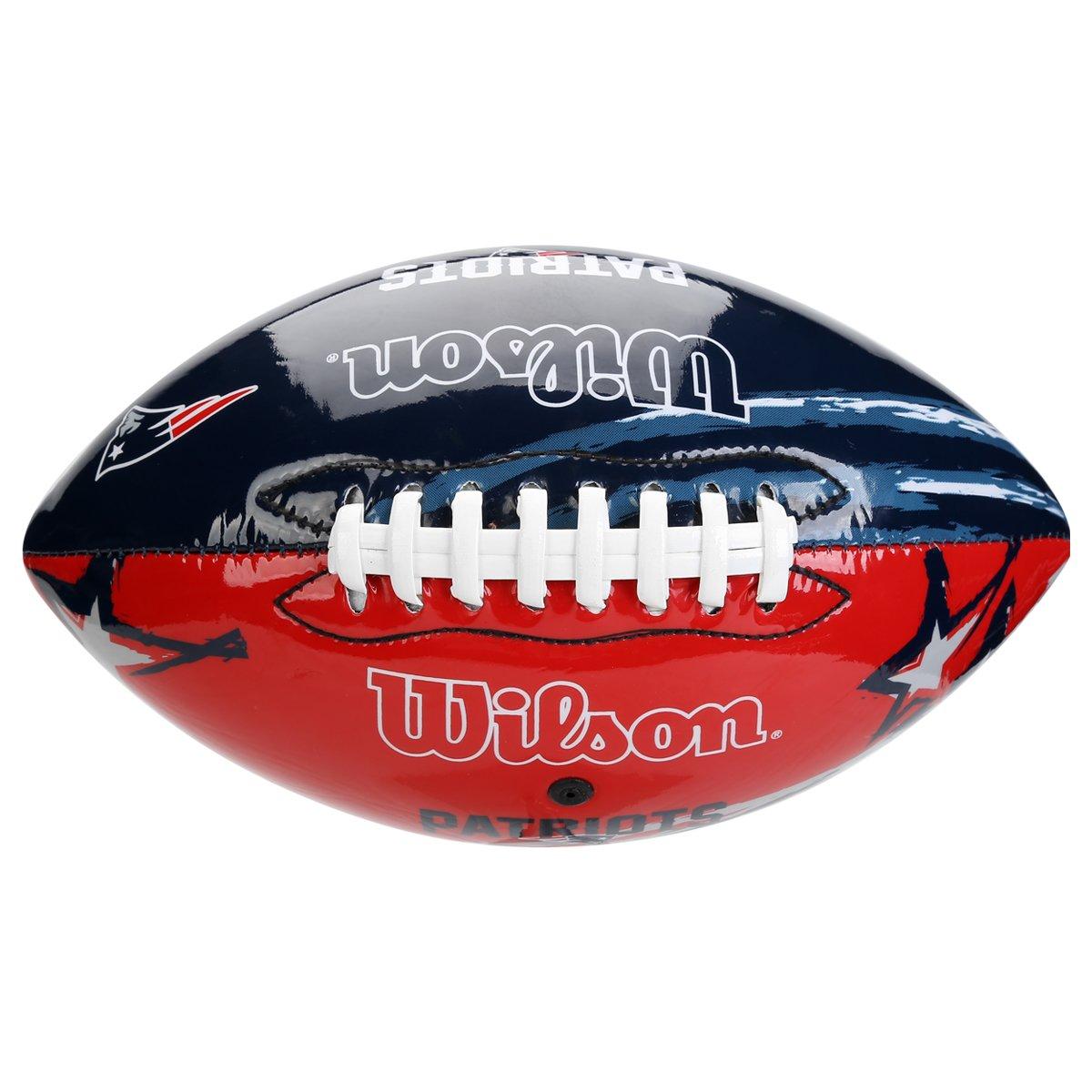 Bola Futebol Americano Wilson New England Patriots - Compre Agora ... cd7dc50d66594