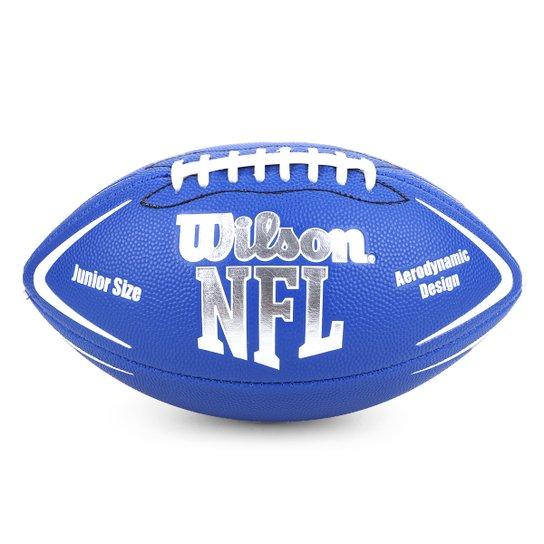 Bola Futebol Americano Wilson NFL Avenger Júnior - Azul