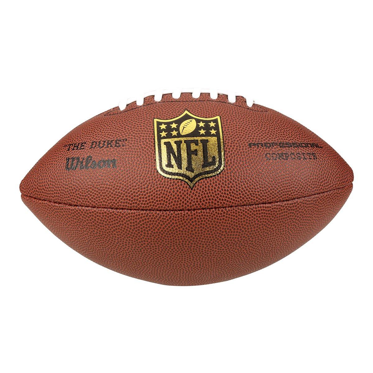 Bola Futebol Americano Wilson NFL Duke Réplica - Marrom