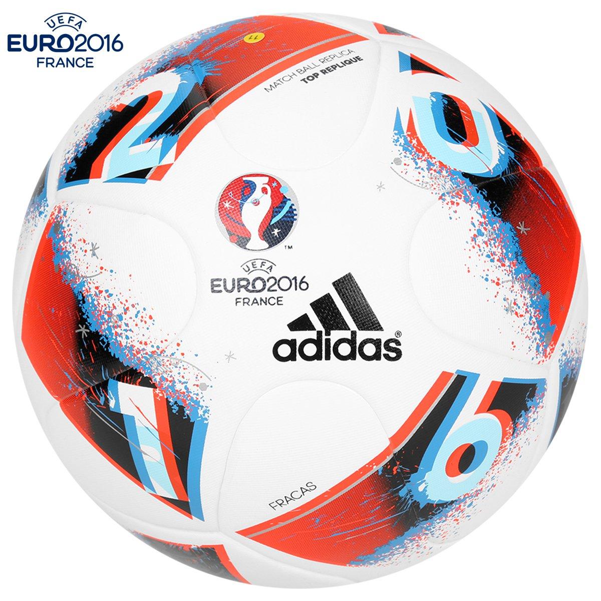 b0669d2b85 Bola Futebol Campo Adidas Euro 2016 Top Réplica - Compre Agora ...