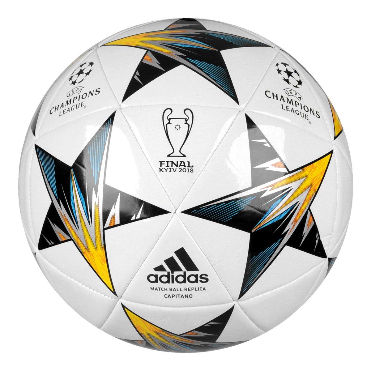 b9ccc7cebff4b Bola Futebol Campo Adidas Finale Kiev Capitano - Compre Agora