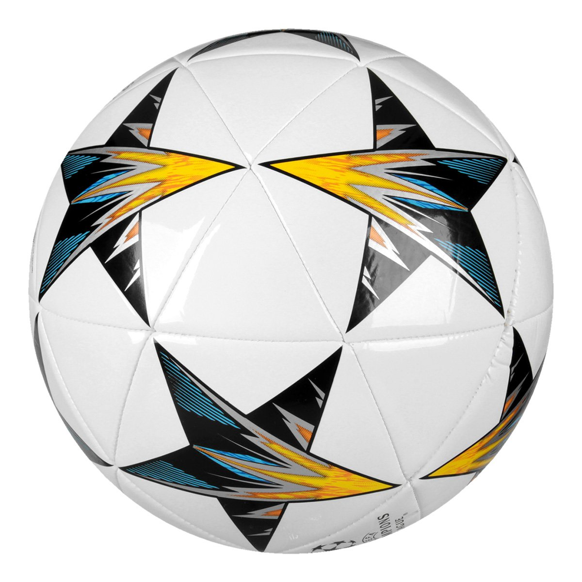 Bola Futebol Campo Adidas Finale Kiev Capitano - Branco e Chumbo ... 774c97889c8b8