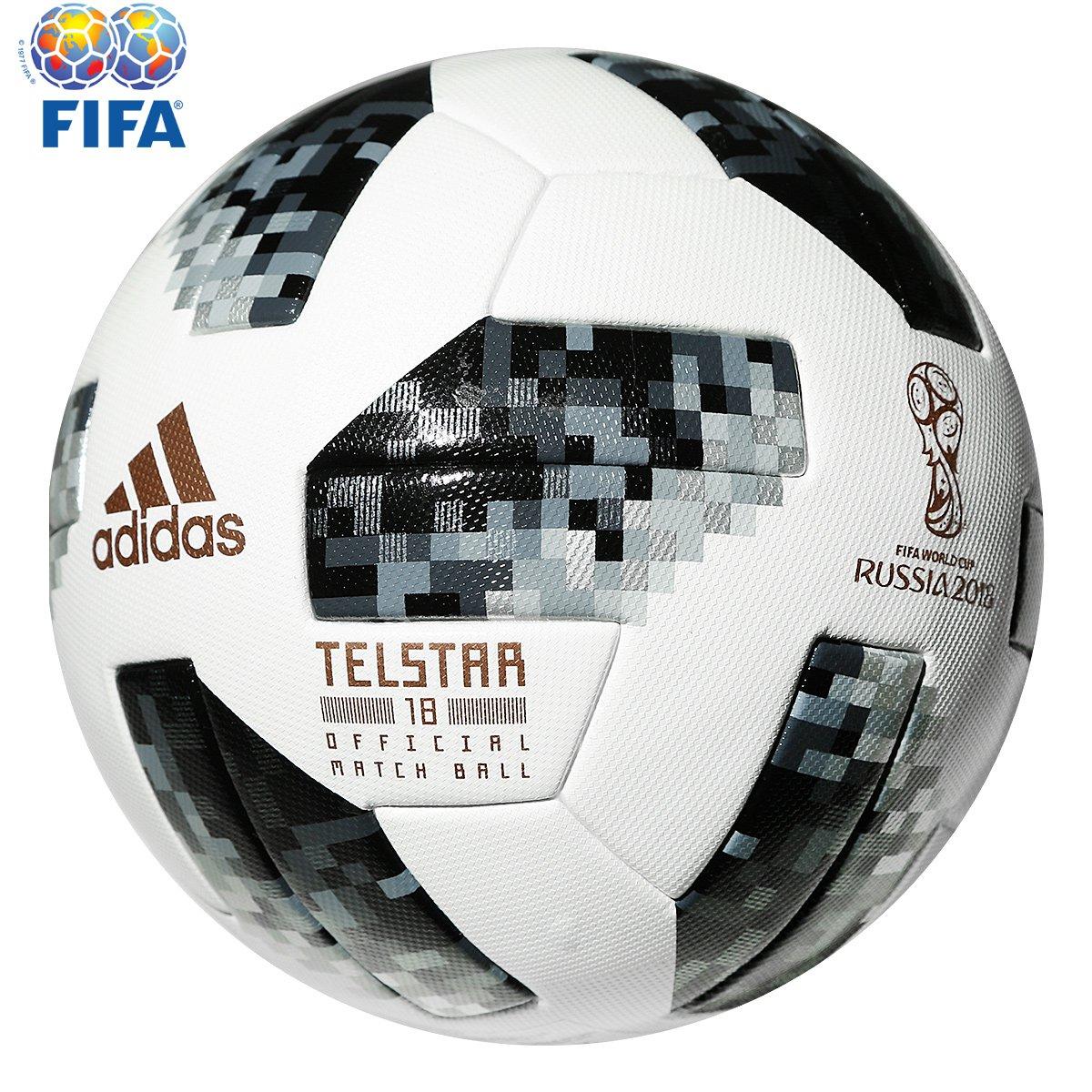 4eb21f5240f5b Bola Futebol Campo Adidas Telstar 18 OMB Copa do Mundo FIFA - Compre Agora