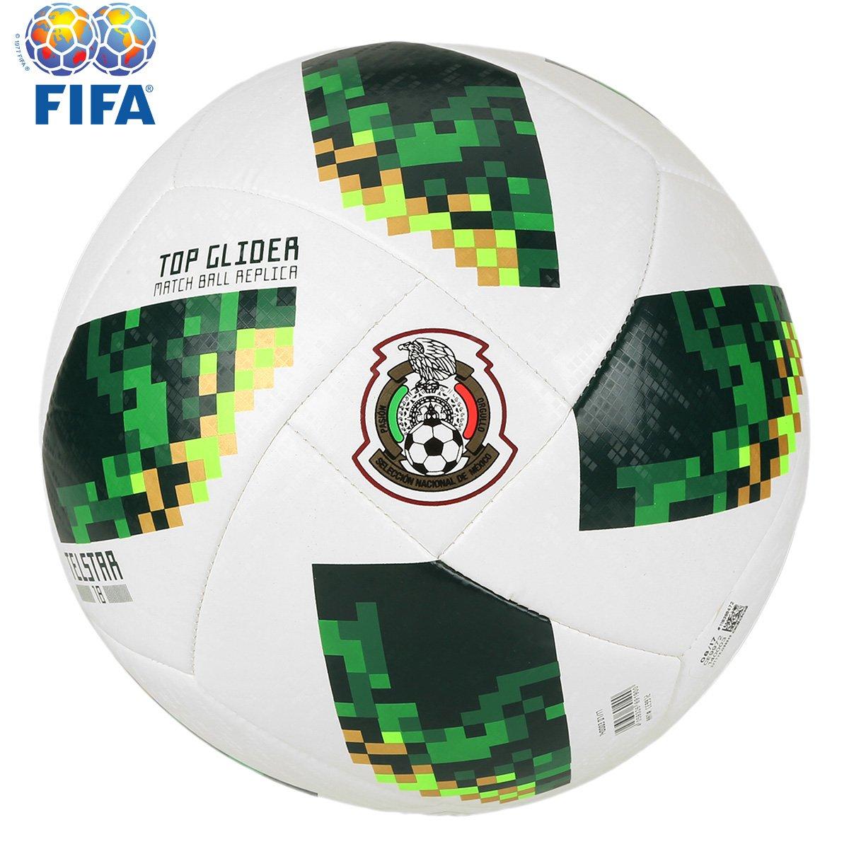 48e6c04ec615a Bola Futebol Campo Adidas Telstar 18 TOP Glider México Copa do Mundo FIFA - Compre  Agora
