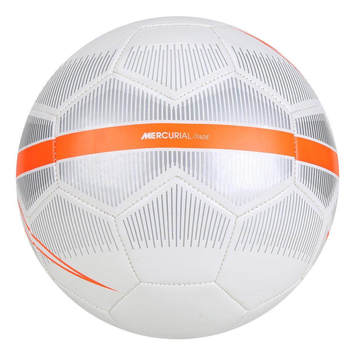 c61323eeef Bola Futebol Campo Nike Mercurial Fade - Branco e Cinza - Compre ...