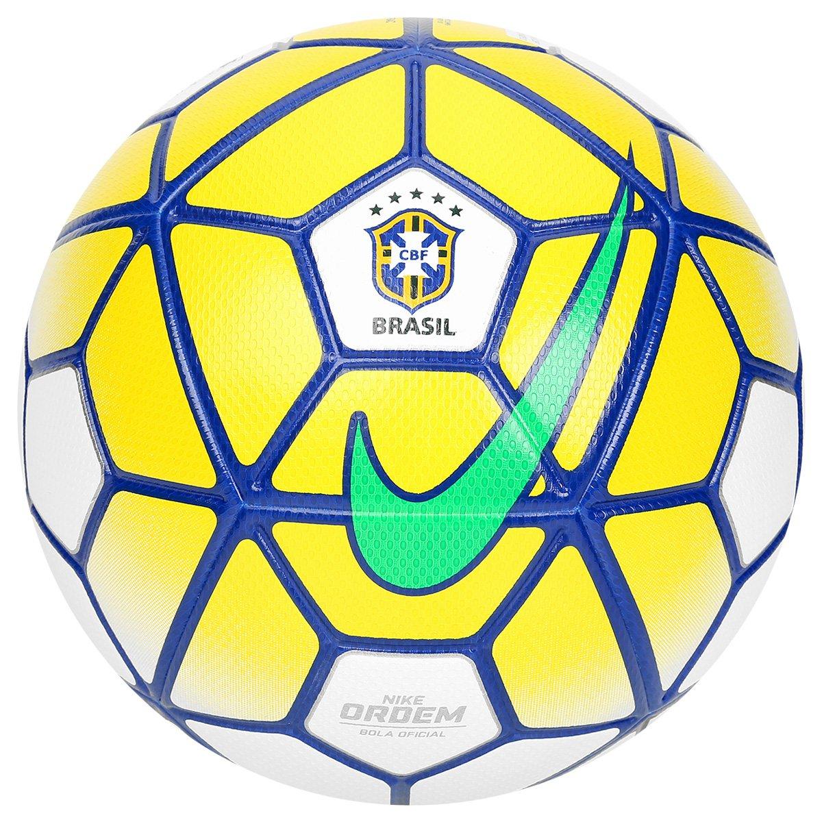 Bola Futebol Campo Nike Ordem 3 CBF - Compre Agora  681d3f005a158