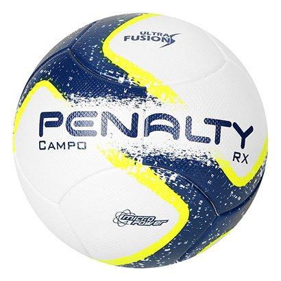 A Bola Futebol Campo Penalty RX R1 Ultra Fusion 7 conta com sistema de  menor absorção f6f8418a28bc5