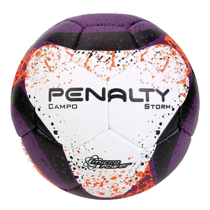 Bola Futebol Campo Penalty Storm Oficial Costurad - Compre Agora ... 44cd7e64c9d99