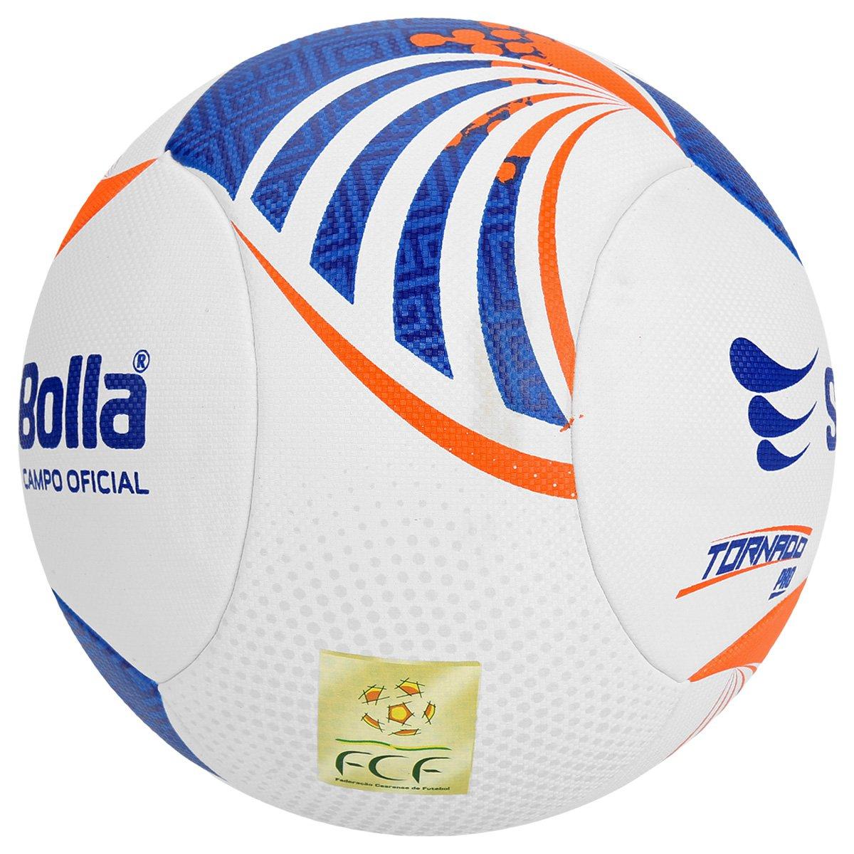 Bola Futebol Campo Super Bolla Tornado Pro 6 Gomos FCF - Compre ... c696993f6fadb