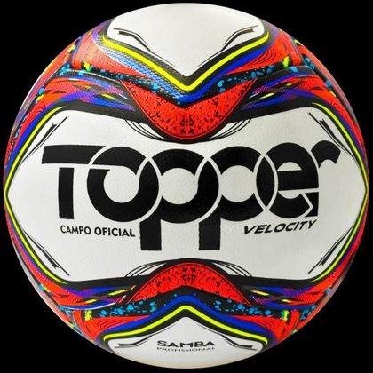 Bola Futebol de Campo Topper Samba Velocity Pro