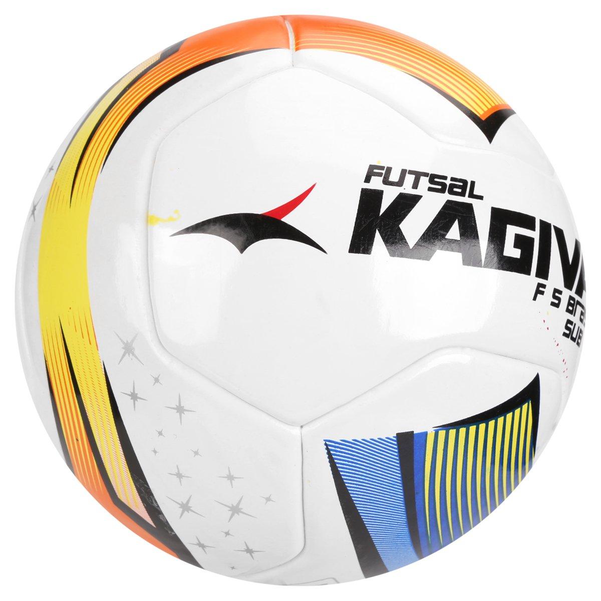 Bola Futebol Kagiva F5 Pro Sub 13 FPFS Futsal Infantil - Compre ... 3facb1aa27b82