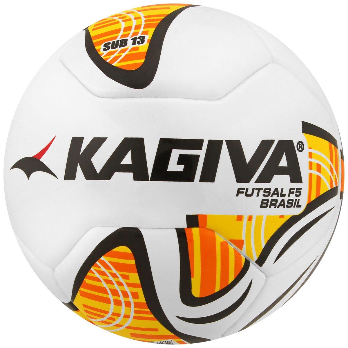 Bola Futebol Kagiva F5 Pro Sub 13 FPFS Futsal Infantil - Compre ... 039957413afb1