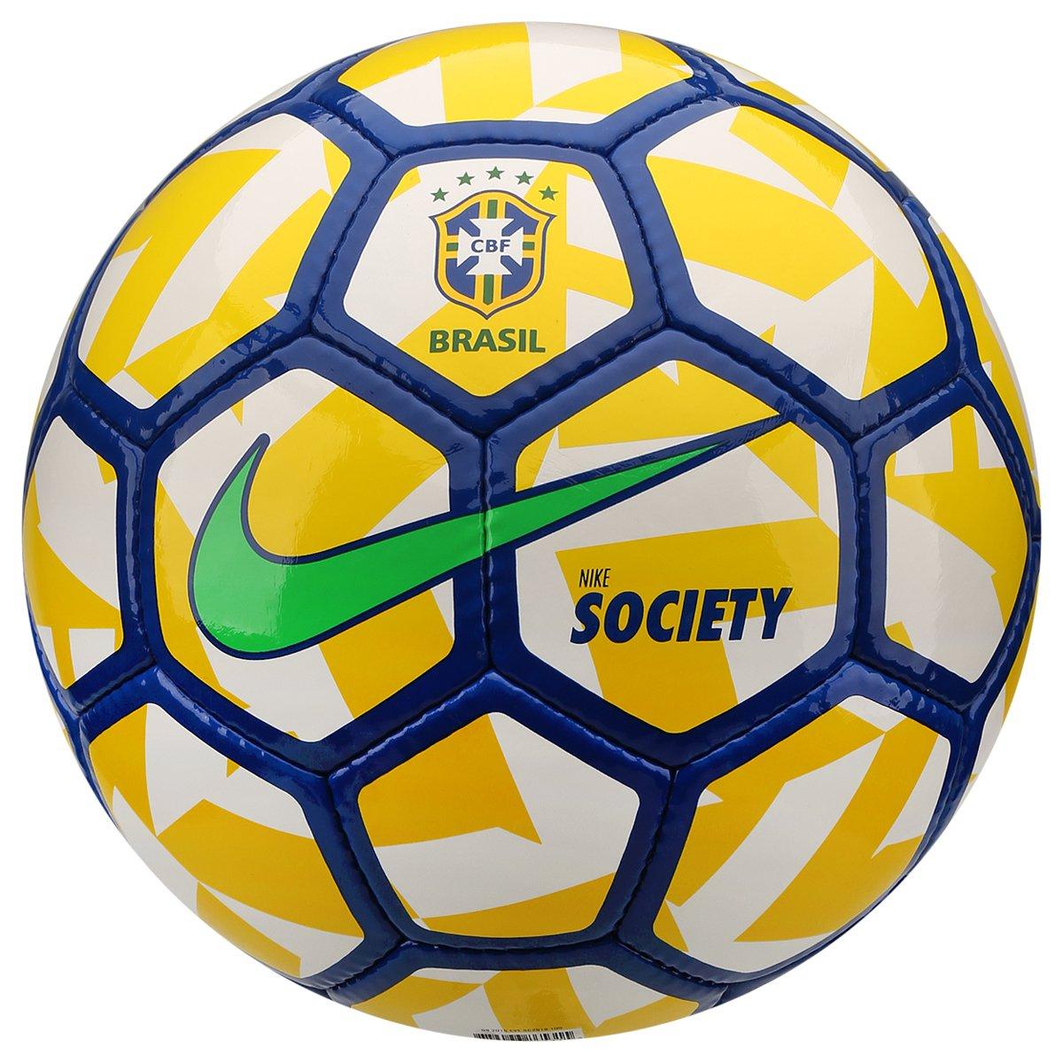 Bola Futebol Nike CBF Society - Compre Agora  71efbab7961d5