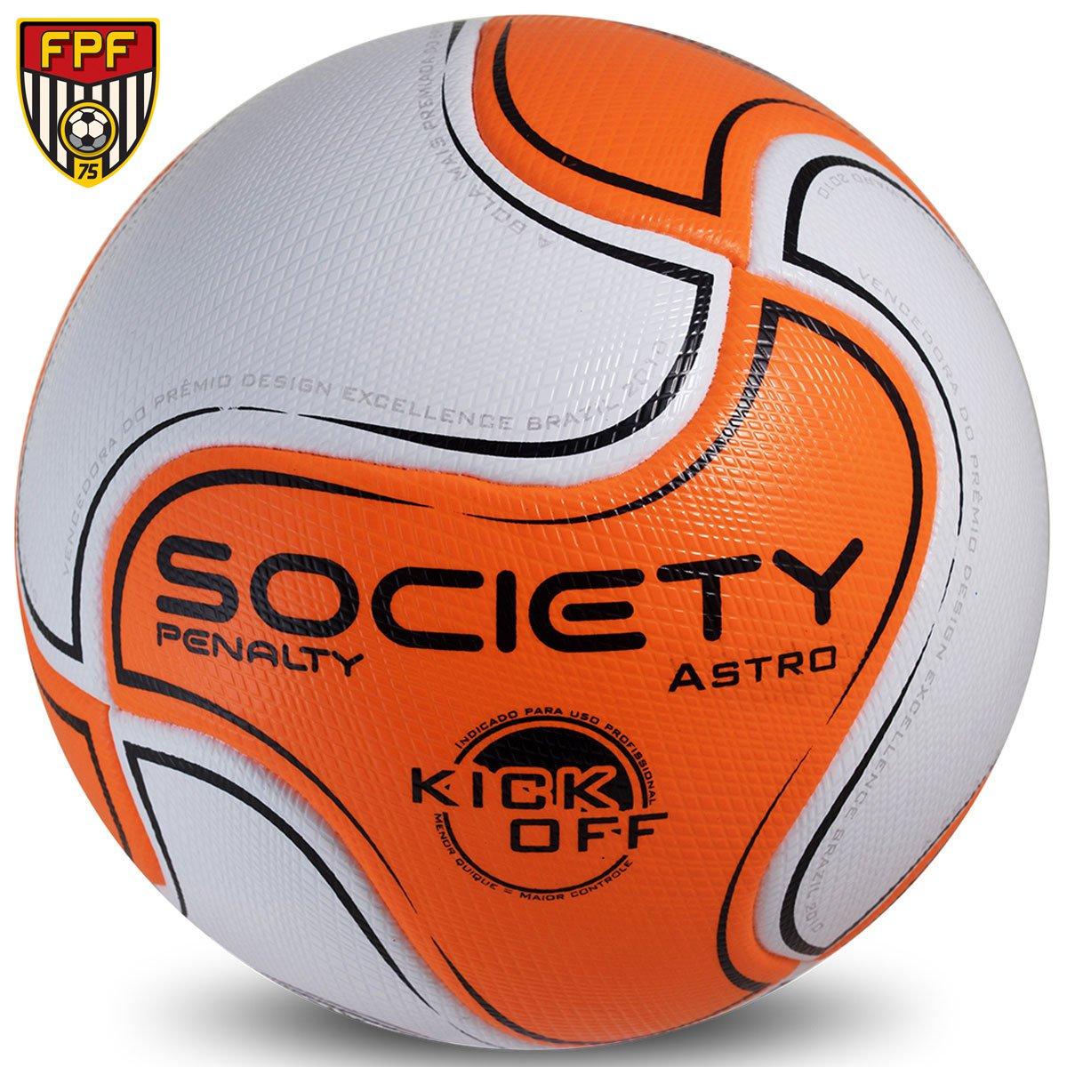 2eaeb379bc834 Bola Futebol Penalty 8 S11 Astro Kick Off 6 Society - Compre Agora ...