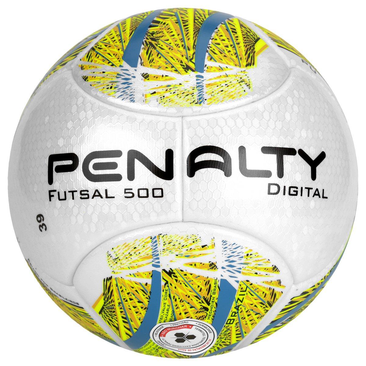 e1f242ffe6285 Bola Futebol Penalty Digital 500 Termotec 5 Futsal - Compre Agora ...