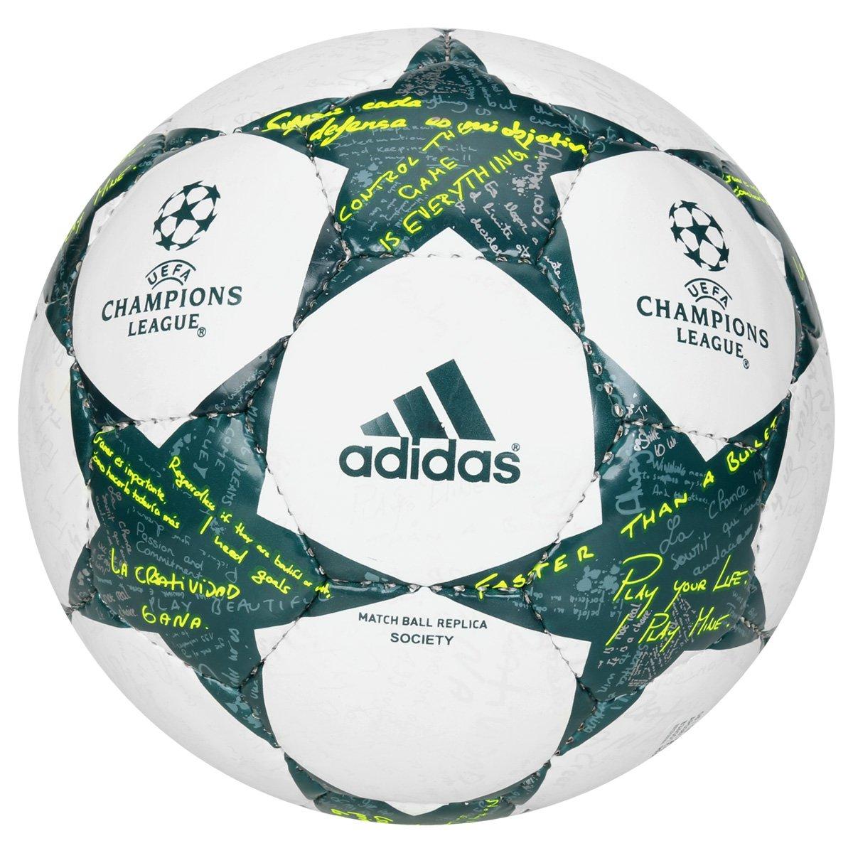 Bola Futebol Society Adidas Finale Champions League 2016 Réplica - Compre  Agora  720457a9c7630