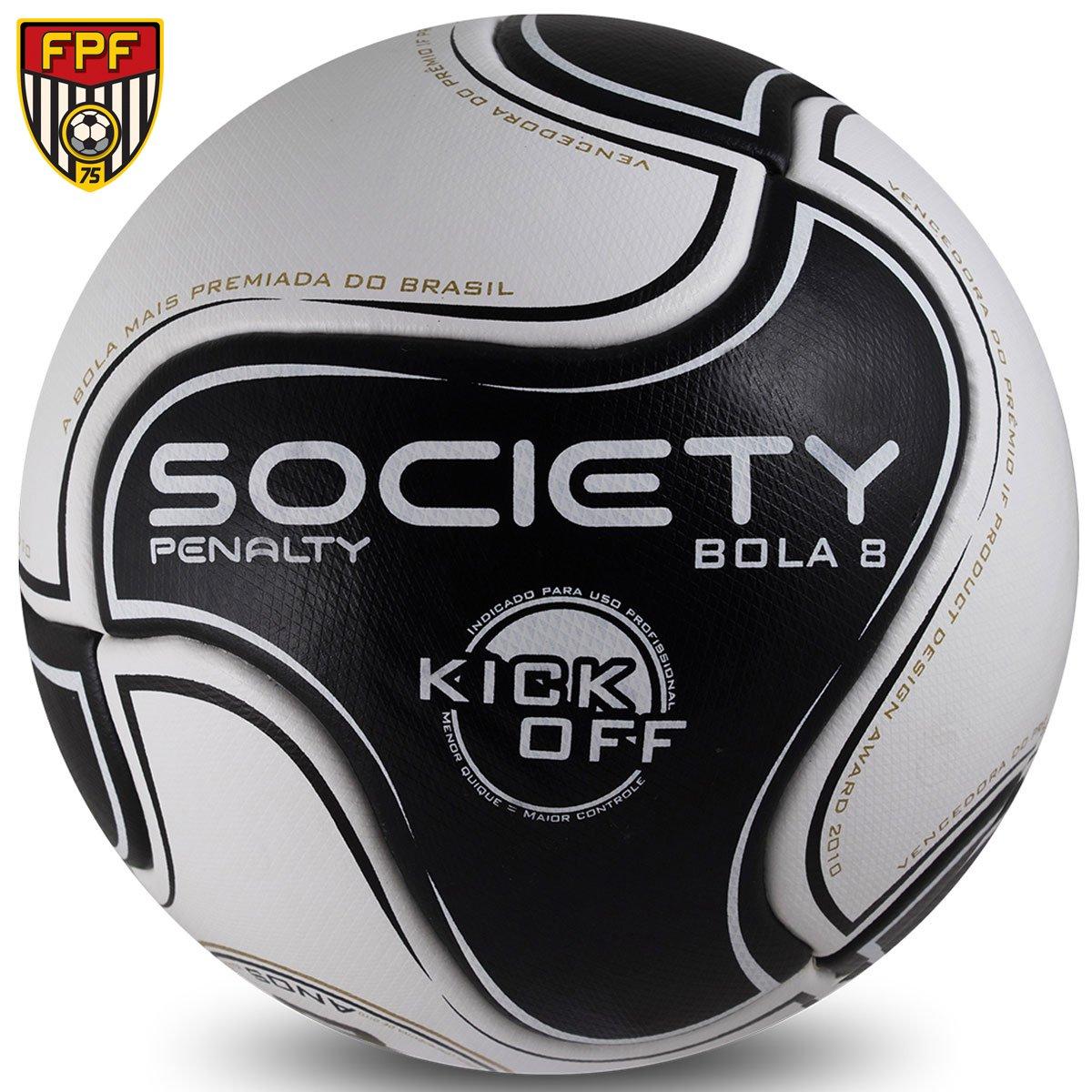 24cfa4080a ... Bola Futebol Society Penalty 8 S11 R1 Kick Off 6 - Compre Agora .. ...
