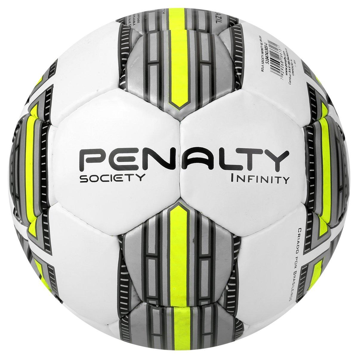 Bola Futebol Society Penalty Infinity 4 . c7266cc24efbc