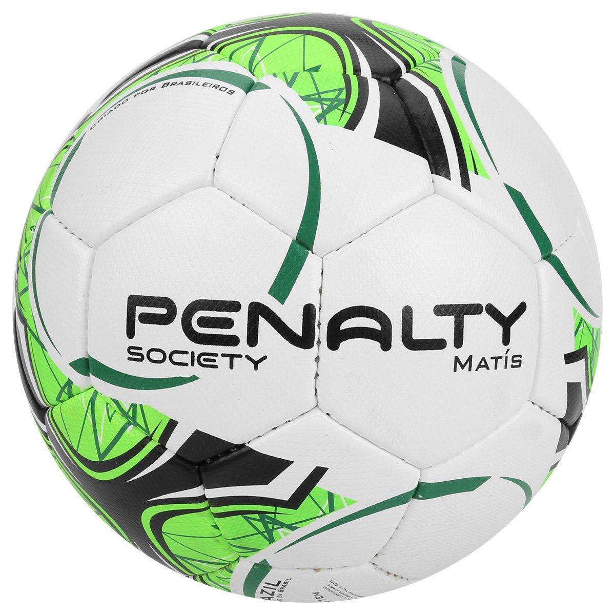 bca3069eb00dd Bola Futebol Society Penalty Matis Com Costura à Mão 7 - Compre Agora