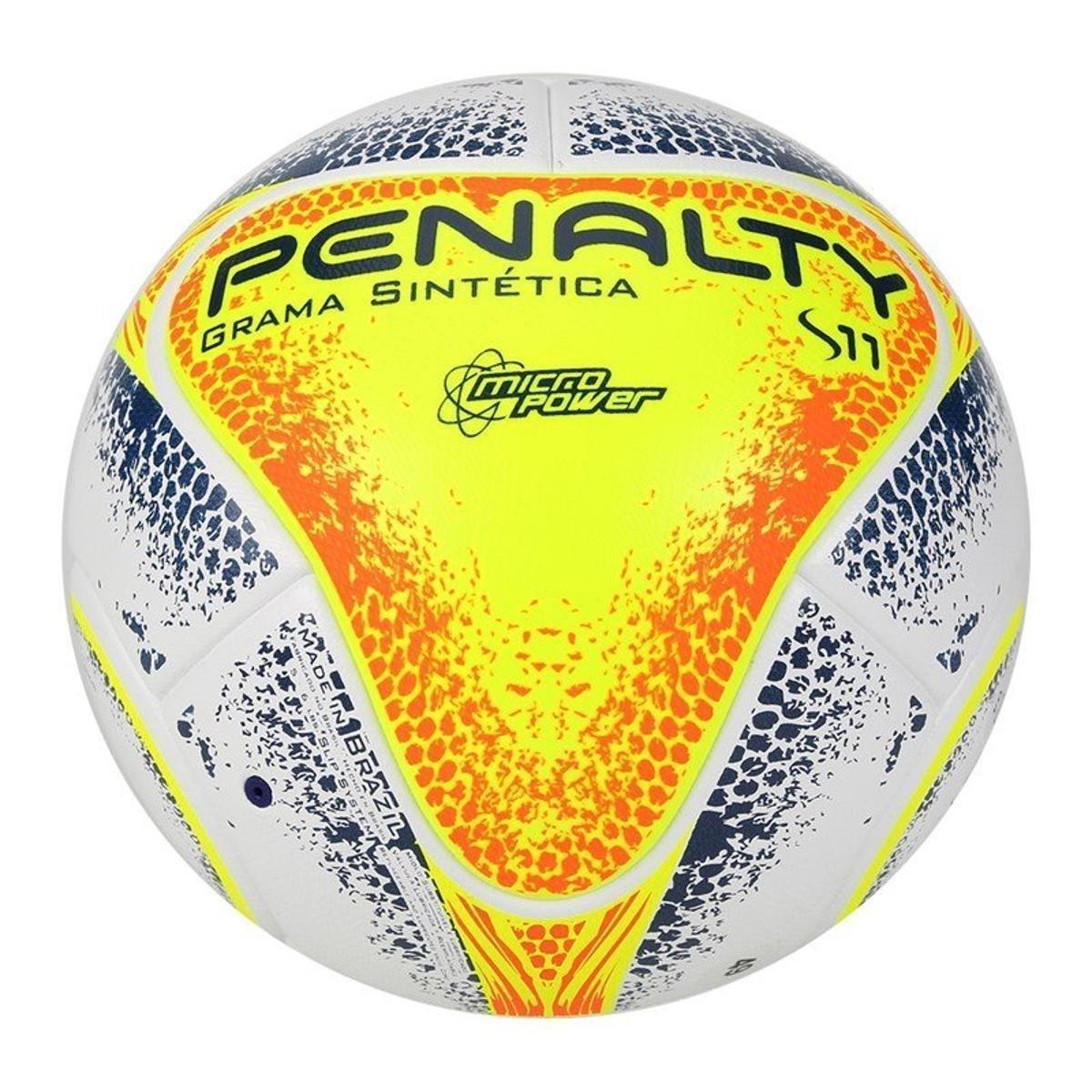 4081aecb56712 Bola Futebol Society Penalty S11 R2 KO VIII - Branco e Laranja - Compre  Agora