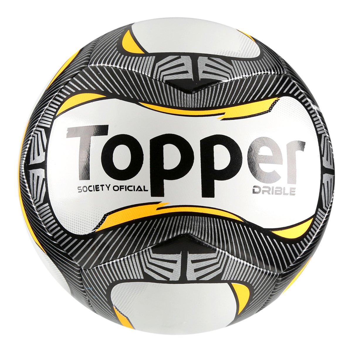 Bola Futebol Society Topper Drible 81bd023136eb5