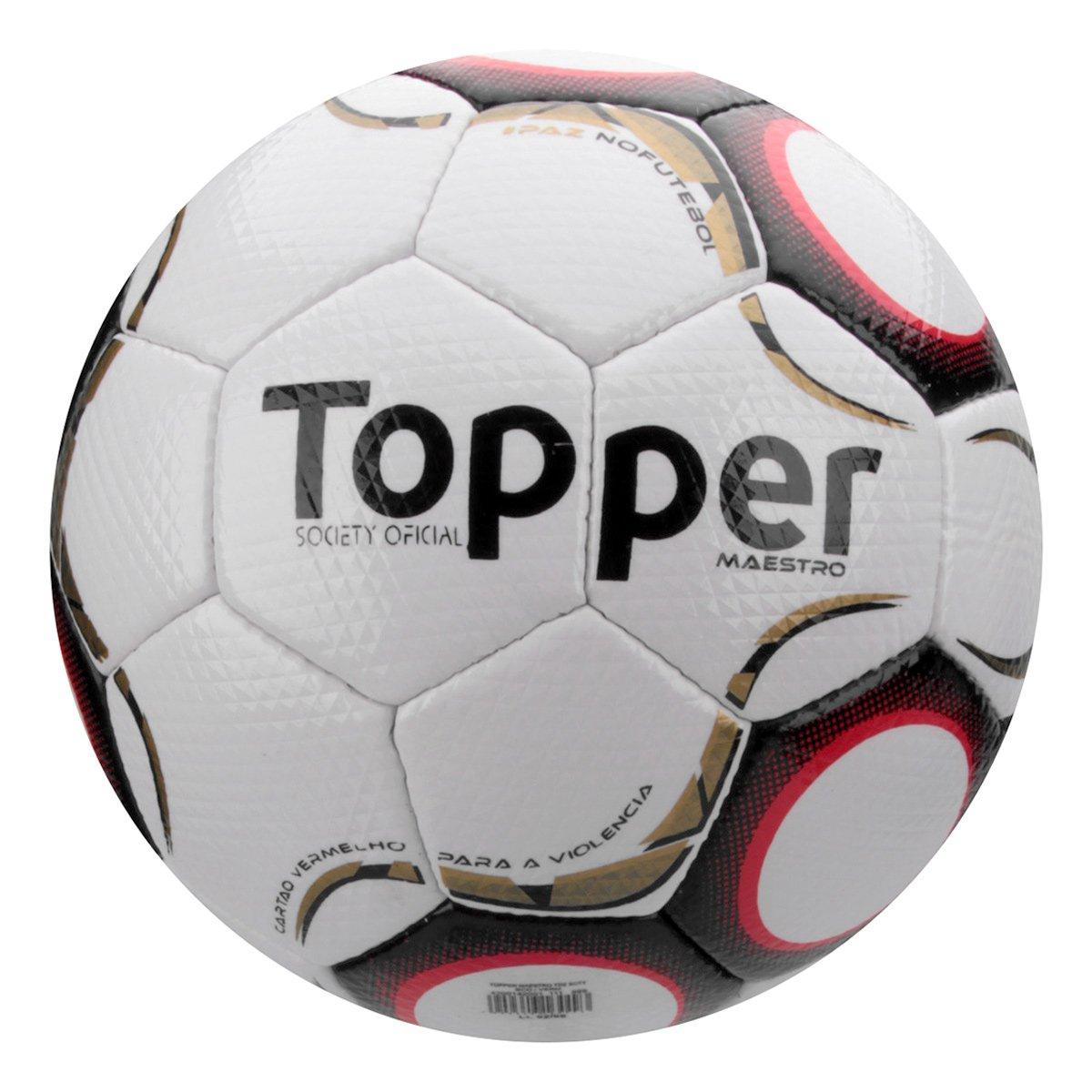 643d226298 Bola Futebol Society Topper Maestro Td2