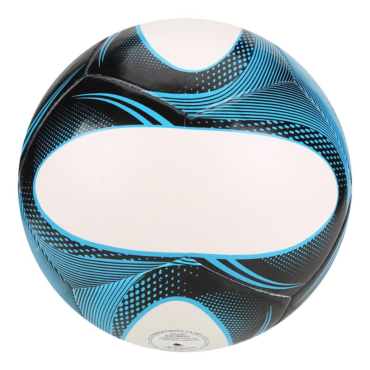 Bola Futebol Society Topper Slick II - Branco e Preto - Compre Agora ... efaa18b88c8b6