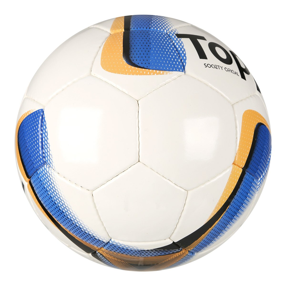 ... Bola Futebol Society Topper Strike VIII - Branco+Laranja. 2 POR R   99 a414181b52390