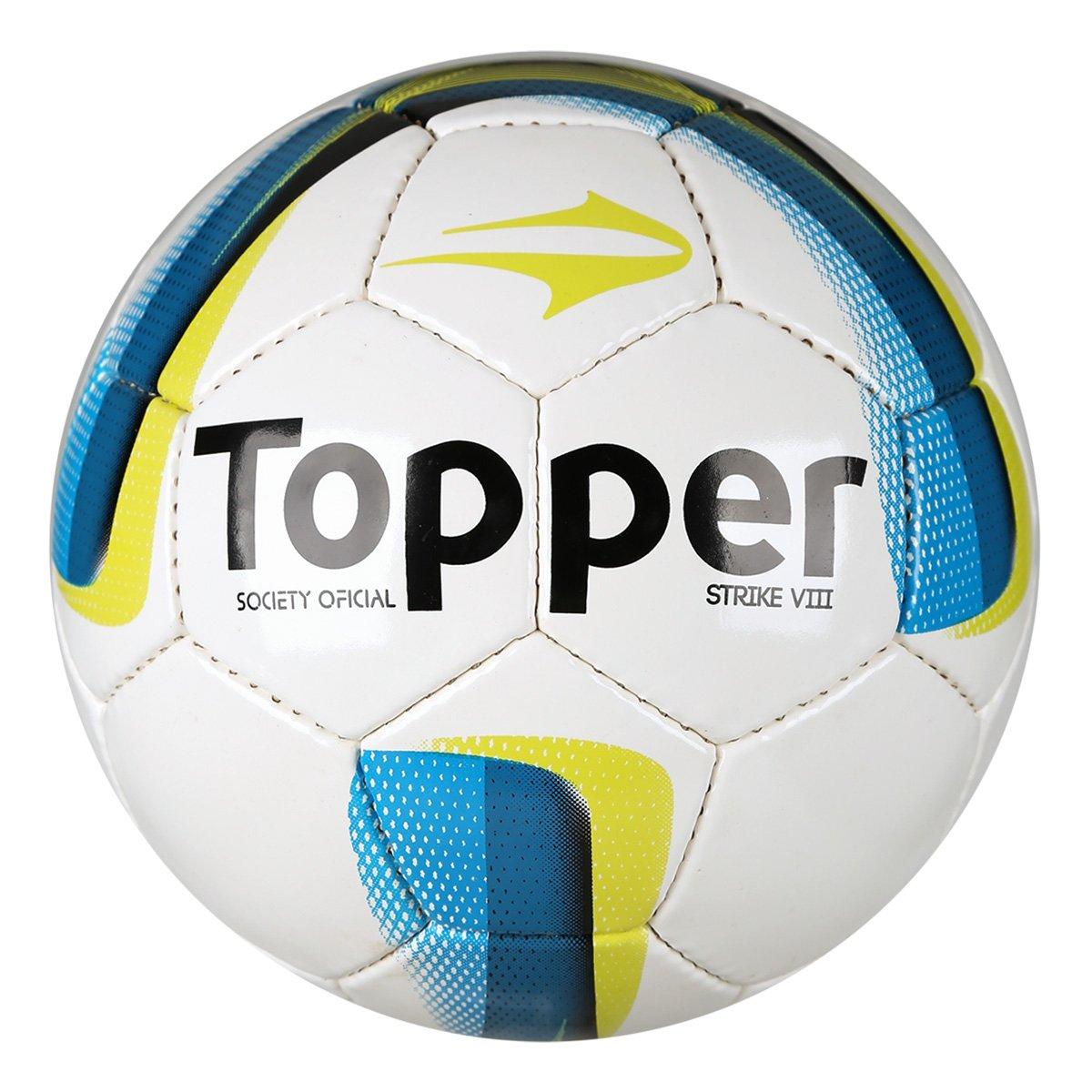 b24808f077  Netshoes  - Bola Futebol Society Topper - R 37