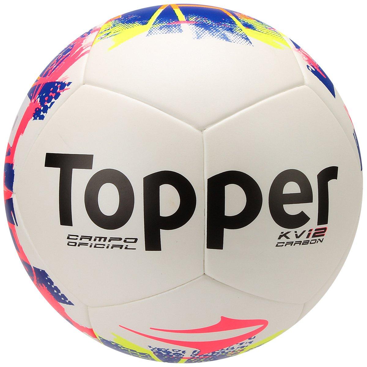 Bola Futebol Topper KV Carbon League 2015 Campo - Compre Agora ... e1131db92cf67