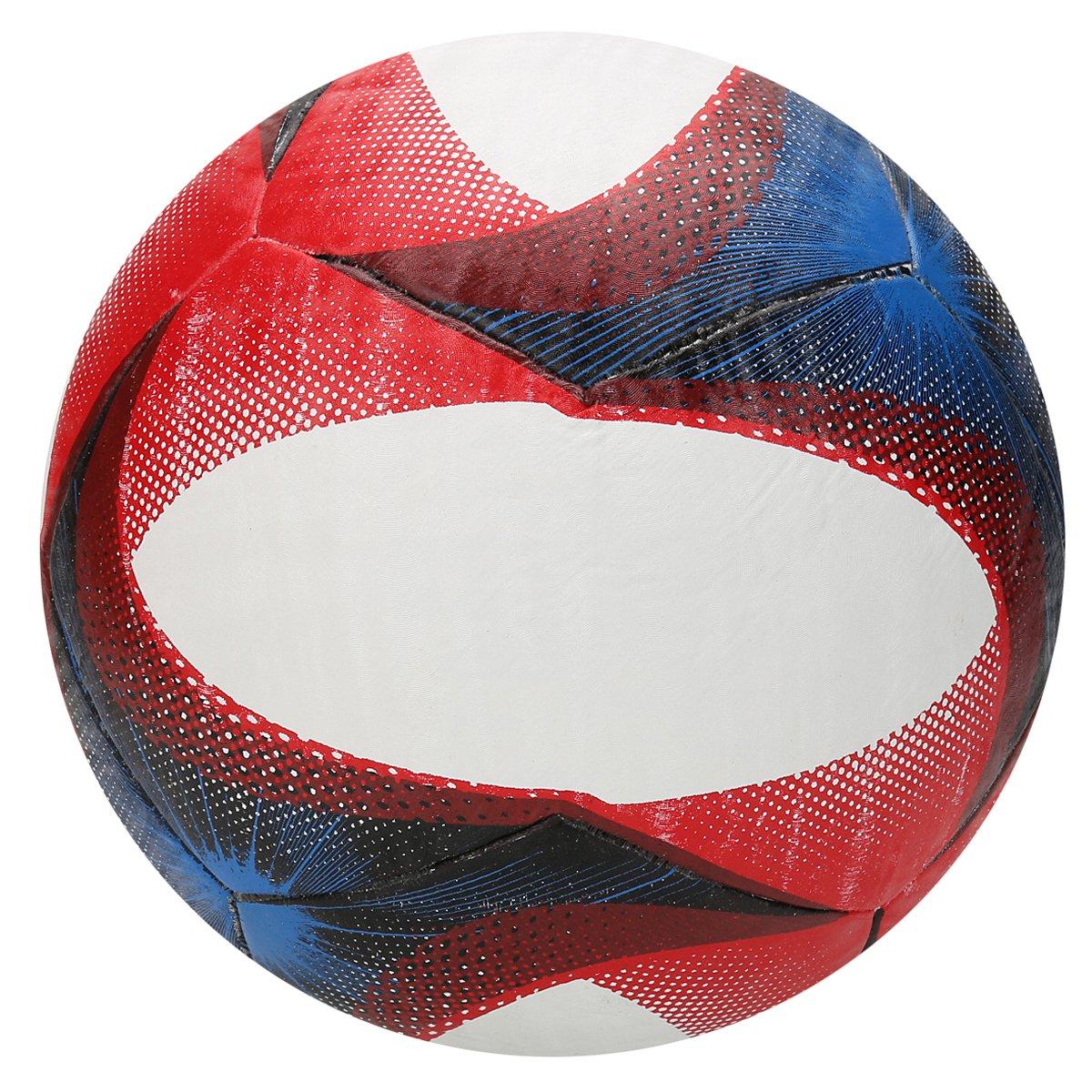 Bola Futebol Topper Slick Campo - Branco e Vermelho - Compre Agora ... 5ed1ef2a39045