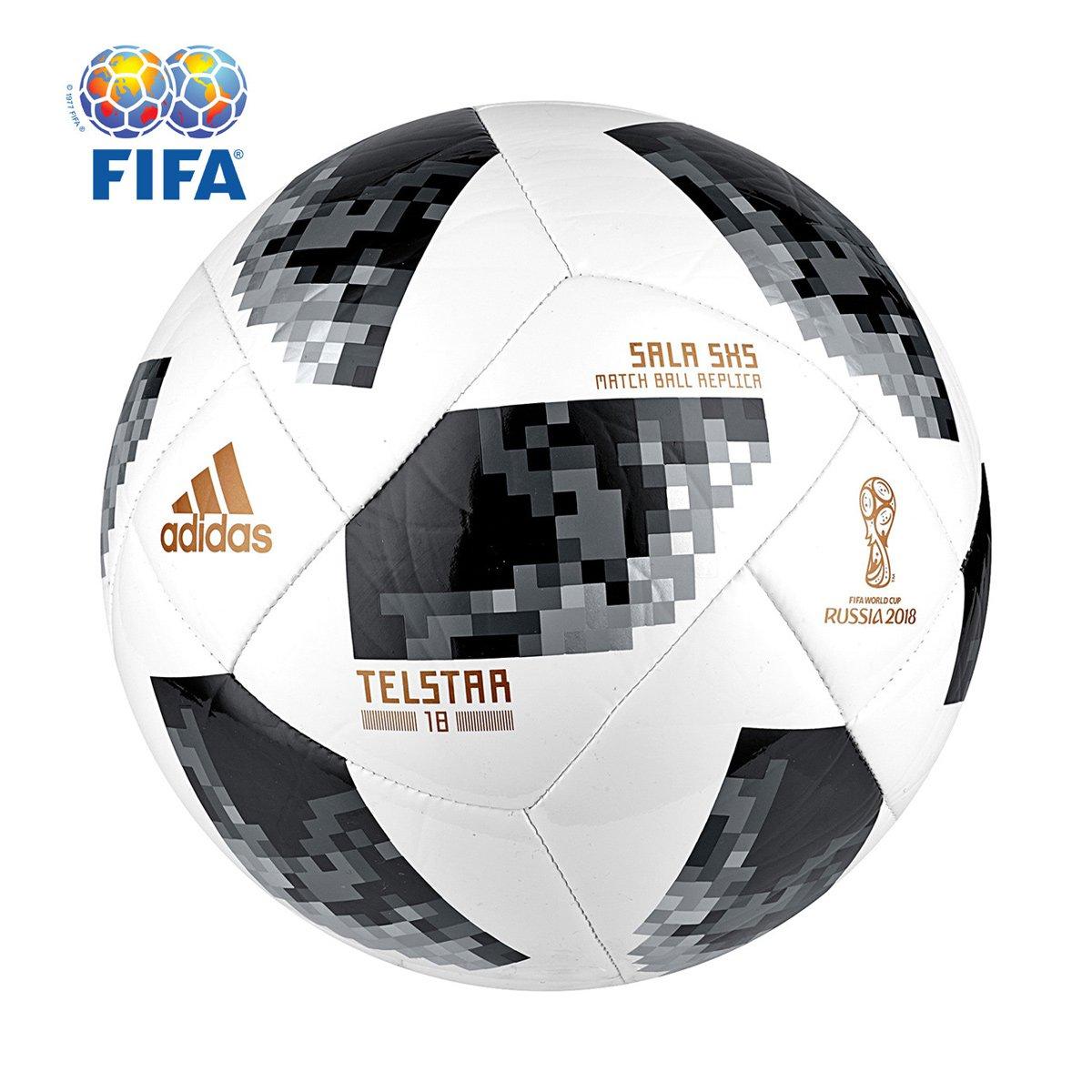 c67c429299d9c Bola Futsal Adidas Telstar 18 5×5 Copa Do Mundo Fifa Compre Agora