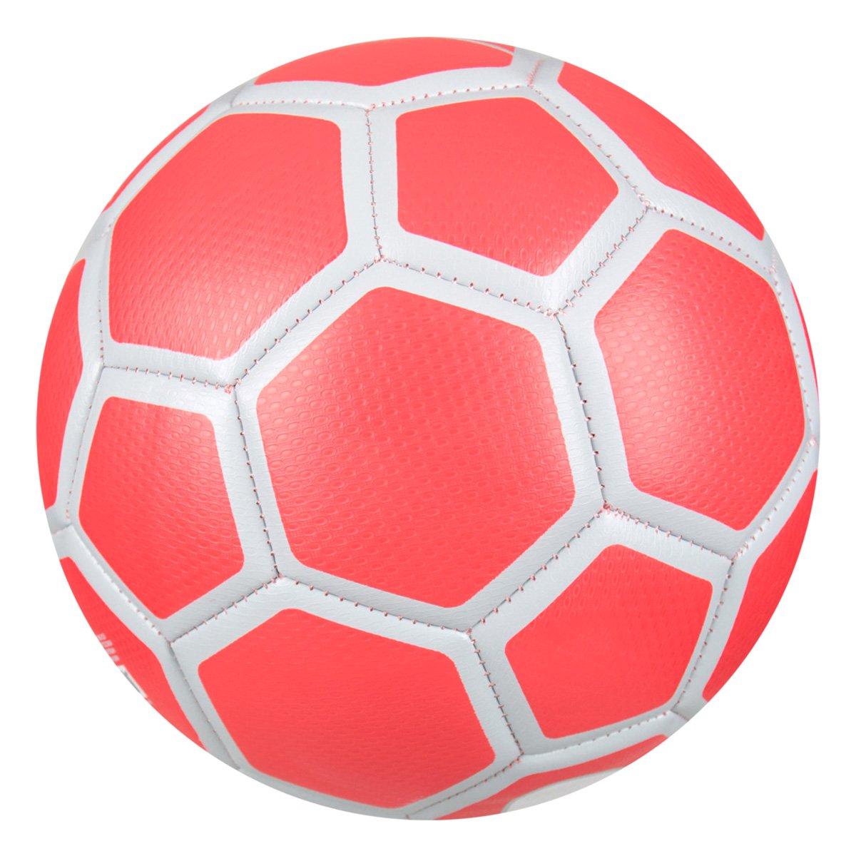 687bca82ea Bola Futsal Nike FootballX Menor - Cinza e Vermelho - Compre Agora ...
