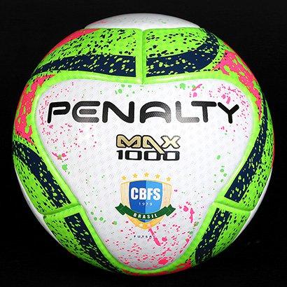 4ac3412beb9b2 Bola Futsal Penalty Max 1000 Pró 7 Termotec - Compre Agora