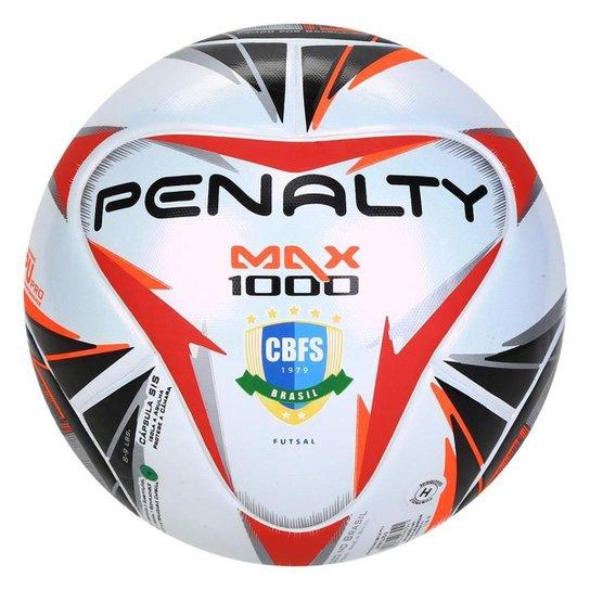 Bola Futsal Penalty Max 1000 Termotec - Branco