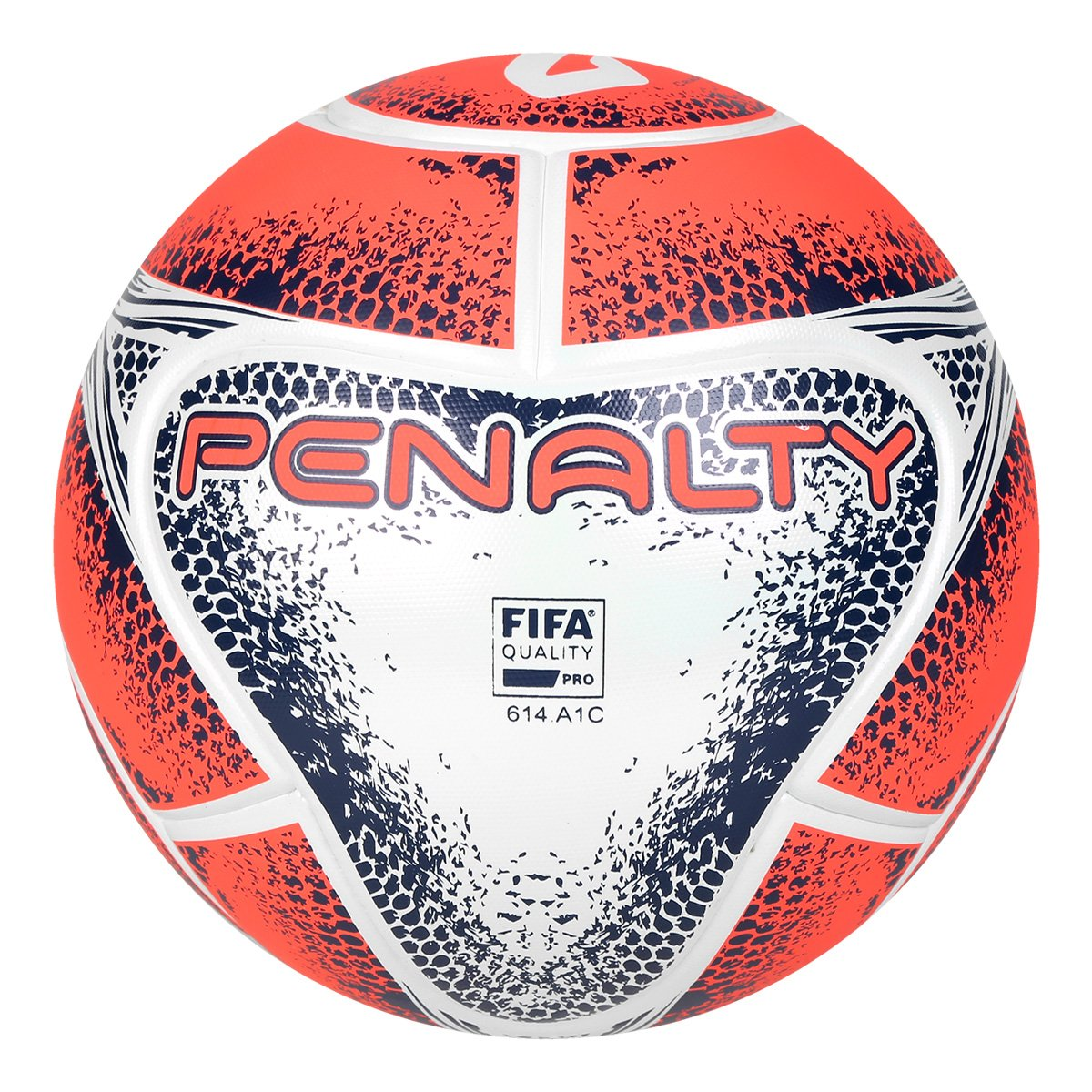 Bola Futsal Penalty Max 1000 VIII - Branco e Laranja - Compre Agora ... b52e7f5096be7