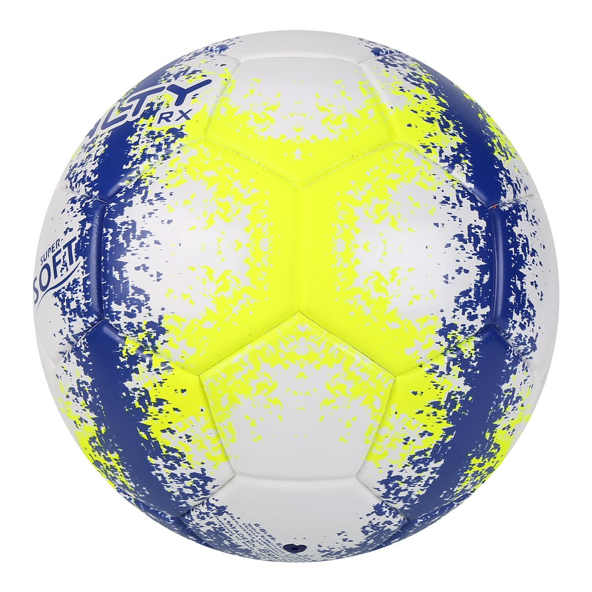f1795f2906 Bola Futsal Penalty RX 100 R3 Fusion VIII - Branco e Amarelo ...