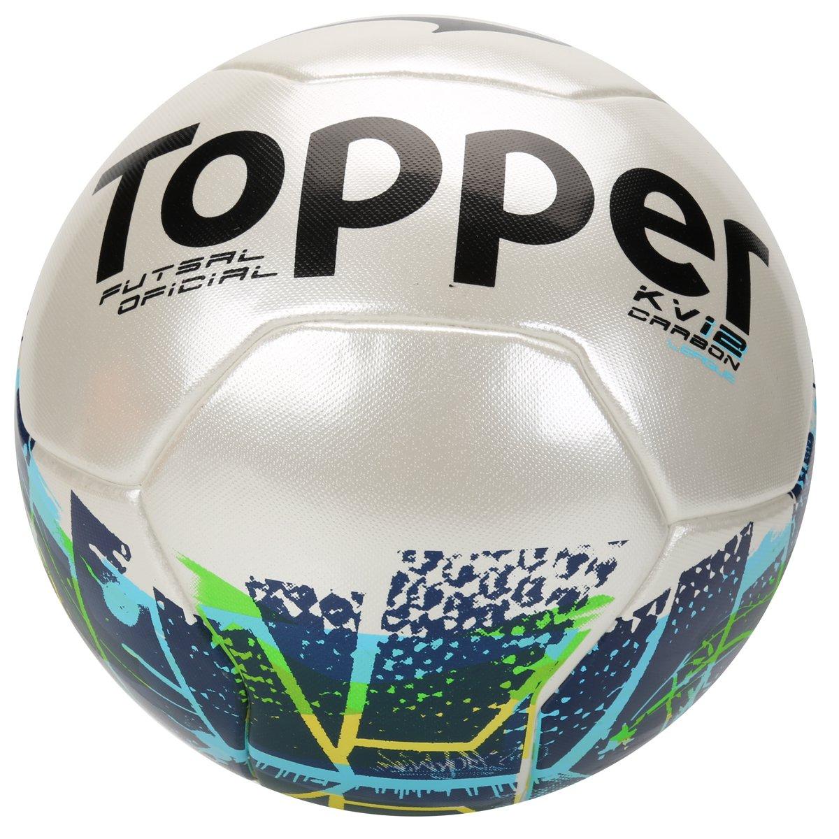 Bola Futsal Topper KV Carbon League 2 - Compre Agora  994fcfae28355