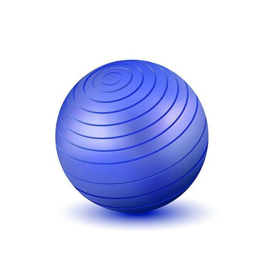 Bola Ginastica 85cm Western - Azul