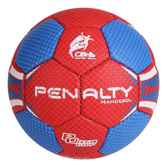 Bola Handebol Infantil Penalty Suécia H1L Ultra Grip 4 - Vermelho+Azul
