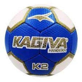 Bola Handebol Kagiva K2 Pró Costurada Feminina